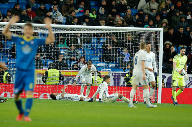 Real Madrid: 1 - Celta Vigo: 2