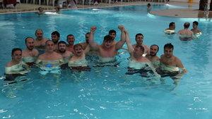 Yozgat'ta kadınlar için yapılan termal havuzu ilk erkekler test etti