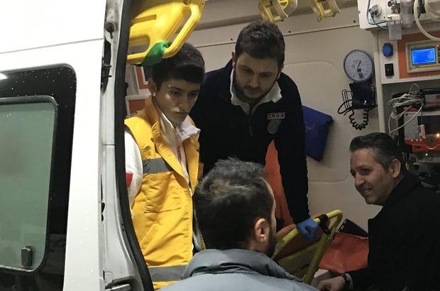 Maltepe'de akaryakıt istasyonu çalışanı rehin alındı