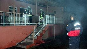 Adana'da bir cezaevinin çocuk koğuşunda yangın çıktı