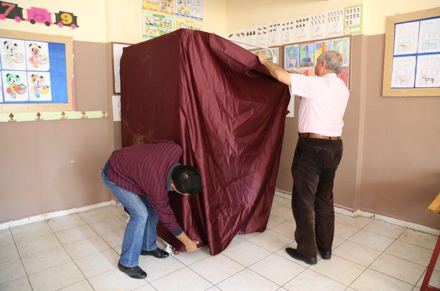 YSK, oy verme kabini için ihale ilanı verdi