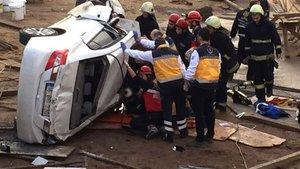 Üniversiteli Ahmet Bera Akyar temel çukuruna uçan otomobilde can verdi