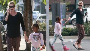 Charlize Theron'un oğlunun giyimi tartışma yarattı