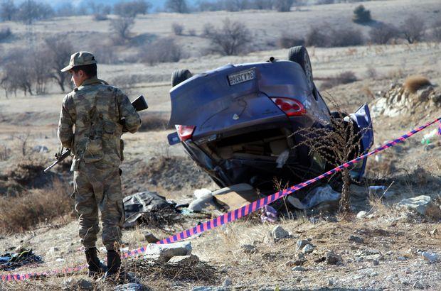 Keban'dan Elazığ'a küvezdeki bebeğini emzirmeye giderken kazada öldü