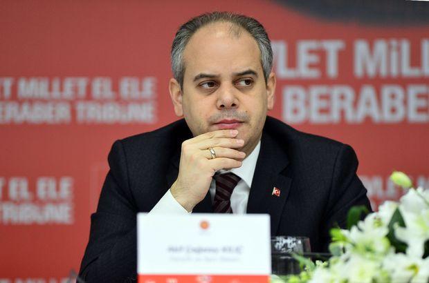 Bakan Kılıç: Sporcu federasyonda değil, kulüpte yetişir