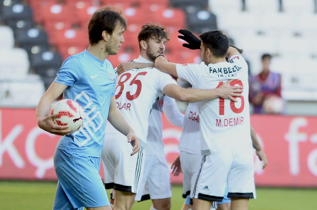 Gaziantepspor: 2 - Osmanlıspor: 0