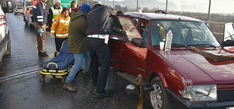 Kazada yaralanan polis memuru şehit oldu