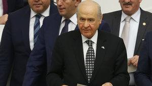 """Devlet Bahçeli'den """"Bakanlık"""" iddialarına yanıt"""