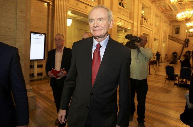 IRA'nın eski lideri McGuinness siyasi kariyerini noktaladı