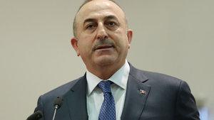 Mevlüt Çavuşoğlu, Trump'ın parti liderleri yemeğine katıldı