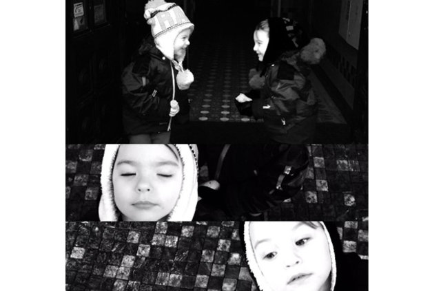 Tuba Büyüküstün'ün kızları 5 yaşında