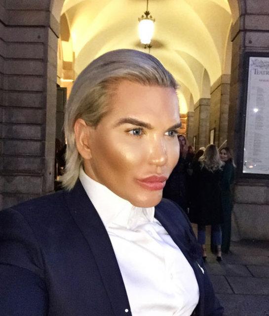 Ken bebek Rodrigo Alves, ileride bir gün Barbie bebek olmak için cinsiyet değiştirebileceğini söyledi