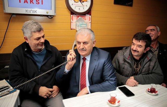 Başbakan Binali Yıldırım'dan vatandaşlara Erdoğan sürprizi