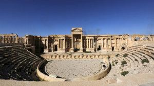 DEAŞ'tan Palmira'da bir yıkım daha!