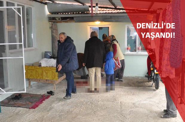Denizli'de evli çift, şizofreni hastası komşusu tarafından öldürüldü