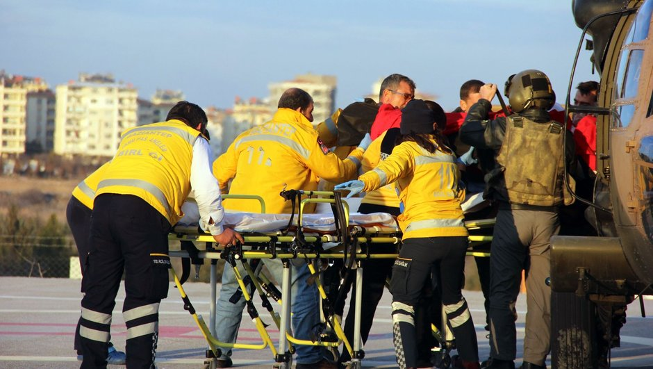 El Babda 5 asker şehit oldu, 9 asker yaralandı!