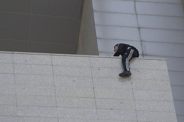 Mersin'de adliyede intihar girişimi