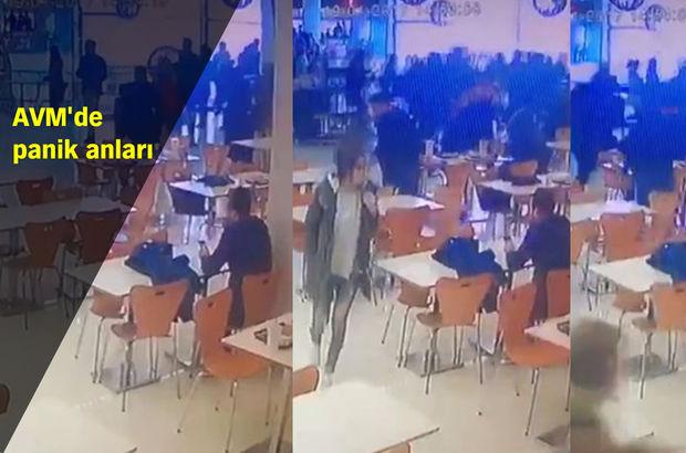 Bursa'da gazlı içecek tüpündeki kaçak, AVM´de paniğe neden oldu