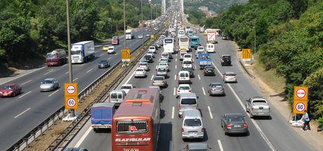 İstanbul trafiği 'Dur-Kalk'ta birinci oldu