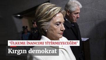 'Demokrasi için buradayım'
