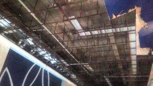 Sakarya'da havuzdaki kadınların üzerine tavan çöktü