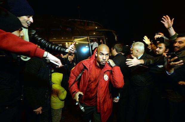 Galatasaray Karabük karşılama