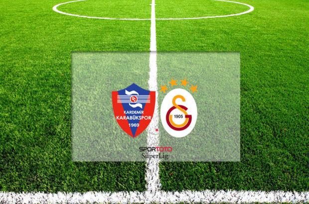 Karabükspor - Galatasaray maçı hangi kanalda, saat kaçta, ne zaman?
