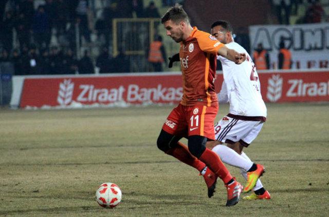 Galatasaray'da Podolski krizi