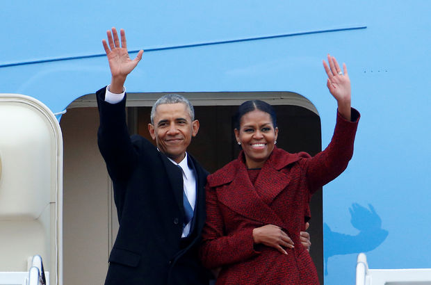 Obama, Beyaz Saray'a son bakış