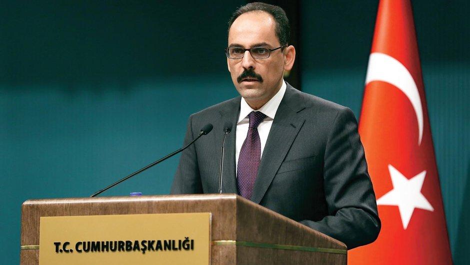 Kalın: Erdoğan referandum için sahada olacak