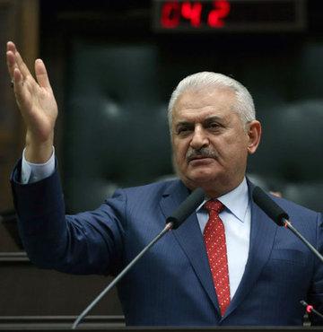 Başbakan Binali Yıldırım, Anayasa değişikliği teklifinin kabul edilmesi sonrası TBMM