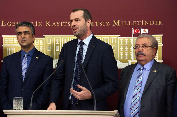 Saffet Sancaklı'dan milletvekillerine teşekkür konuşması