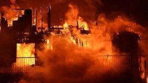 Kanada'da çıkan yangında bir Türk tüm apartmanı kurtardı