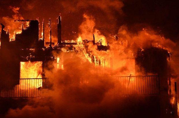 Kanada'da çıkan yangın çıktı, bir Türk tüm apartmanı kurtardı