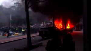 Donald Trump karşıtı gösterilerde 220 gözaltı