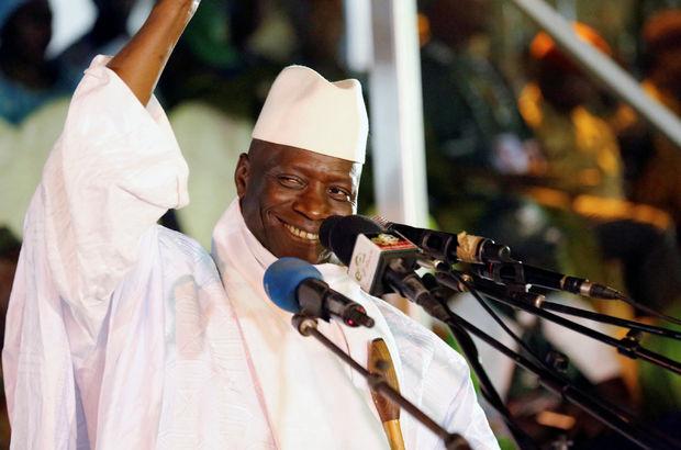 Jammeh ayrılmayı kabul etti, kriz çözüldü!