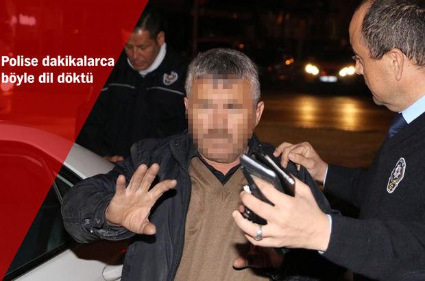 Antalya'da alkollü sürücüden ceza yazan polise ilginç sözler