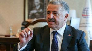 Bakan Arslan taşraya 4,5G'yi götüreceklerini açıkladı