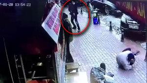 Otopark görevlisini böyle vurdu!