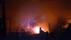 Bodrum'da lüks villada yangın