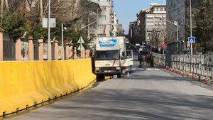 İstanbul Emniyet Müdürlüğü önünde silah sesleri