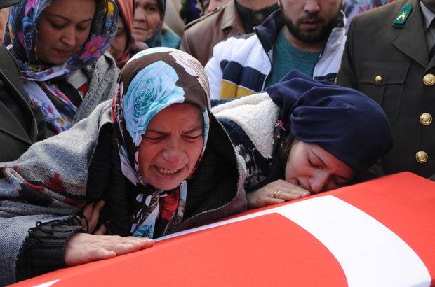 Şehit Uzman Onbaşı Ramazan Taşkın'ı 5 bin kişi uğurladı