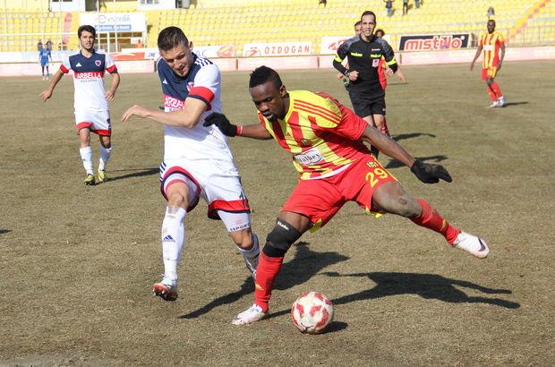 Evkur Yeni Malatyaspor: 2 - Mersin İdman Yurdu: 1