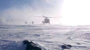 Tendürek Dağı'na havadan ve karadan operasyon