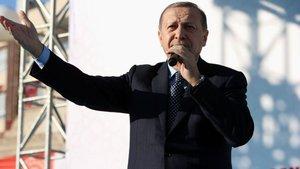 """Cumhurbaşkanı Erdoğan """"Millet referandumda nihai kararını verecek"""" dedi"""