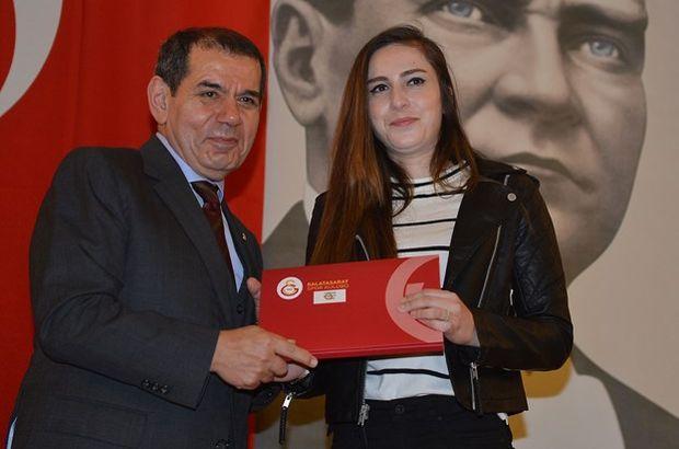 Galatasaray'da berat töreni