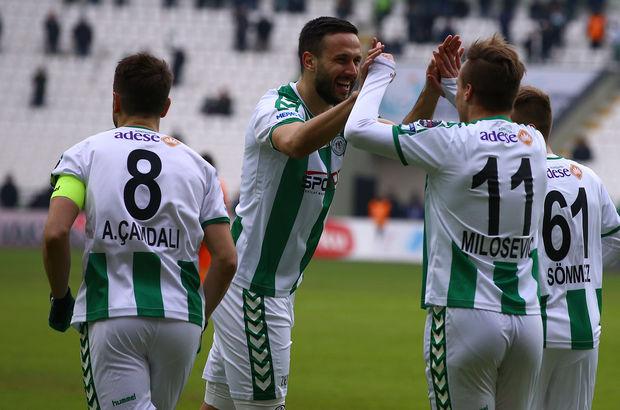 Atiker Konyaspor: 2 - Çaykur Rizespor: 1