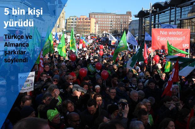 Aşırı sağcı liderlere dev protesto