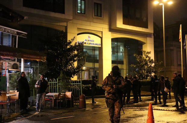 AK Parti binasına saldıran terörist arananlar listesinde