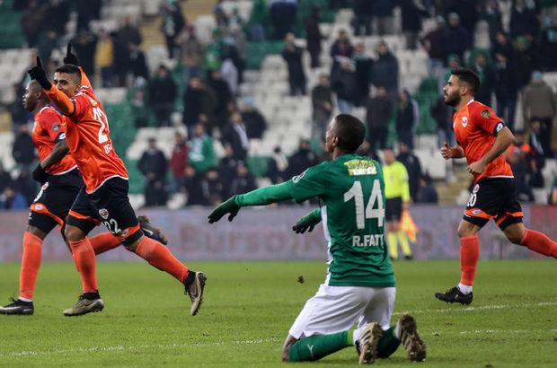 Bursaspor: 0 - Adanaspor: 1 | MAÇ SONUCU